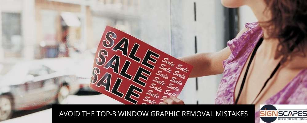Avoid The Top-3 Window Graphic Removal Mistakes