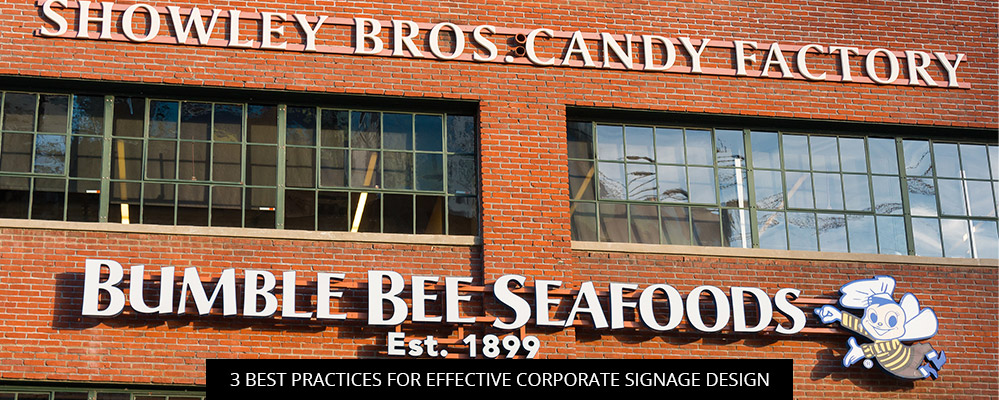 3 Best Practices For Effective Corporate Signage Design