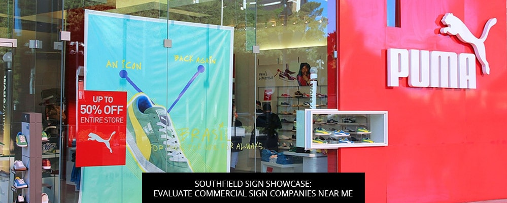 Southfield Sign Showcase: Evaluate Commercial Sign Companies Near Me