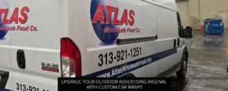 Upgrade Your Outdoor Advertising Arsenal With Custom Car Wraps